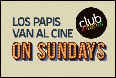 Club Infantil - Los papis van al cine - Titulo con logo
