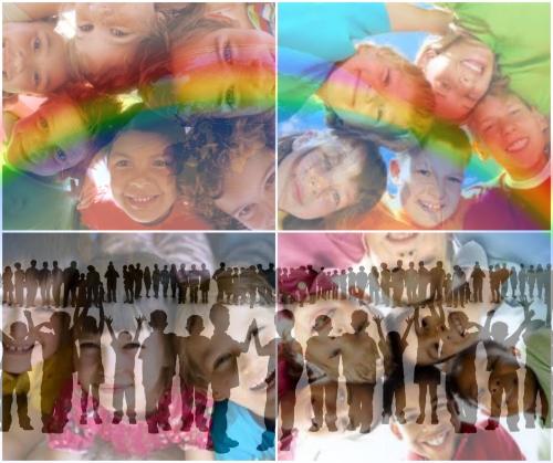 Dia de los Derechos del niño - Collage 1