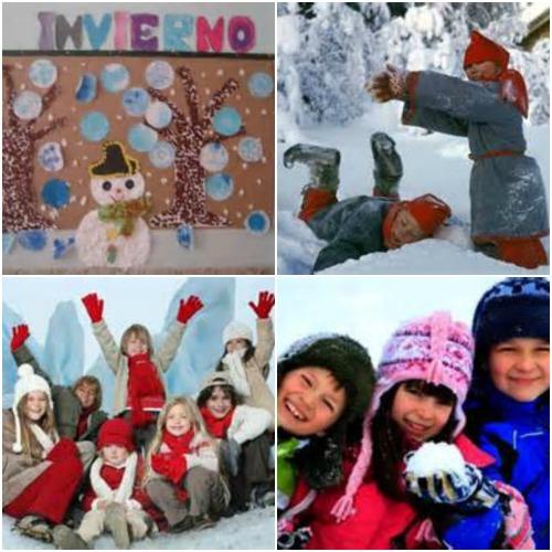 Invierno en el Club Infantil - Collage 1