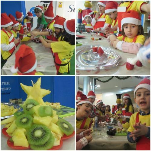 Minichefs en Navidad - Collage 2