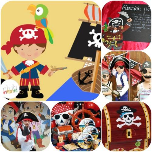 Piratas a la vista! en el Club Infantil