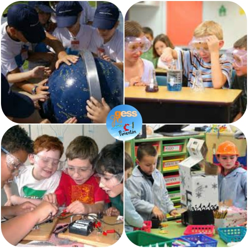 Club Infantil - Ciencia Collage 1