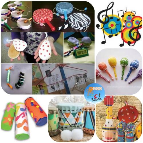 ClubInfantil - Carnavales - Collage 5 - Taller Instrumentos Musicales