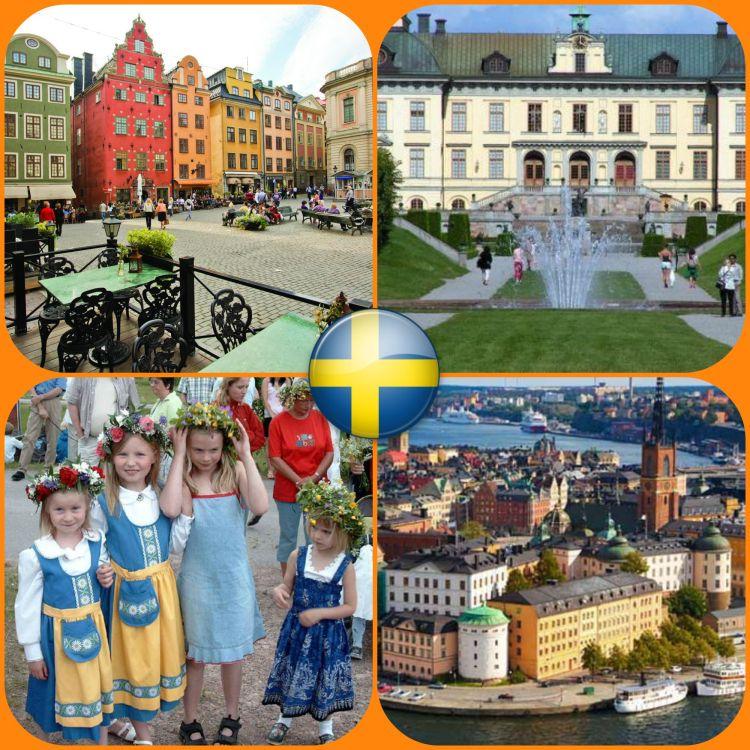 Suecia - Collage 1