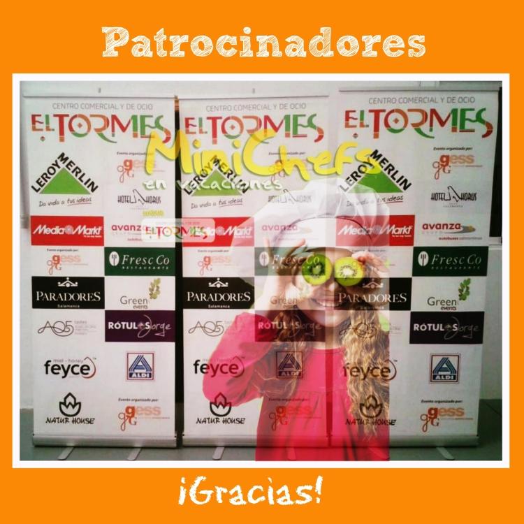 Minichefs Verano 2015 - Collage Rotulo - Patrocinadores