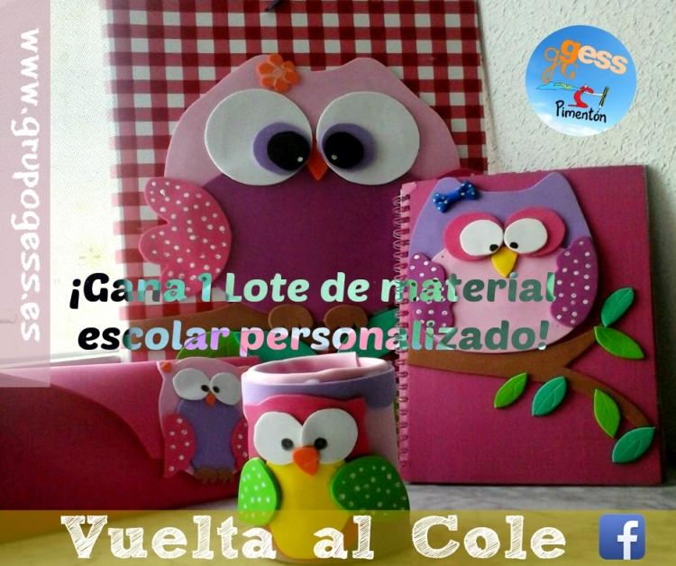 Sorteo - Lote Vuelta al Cole - Facebook