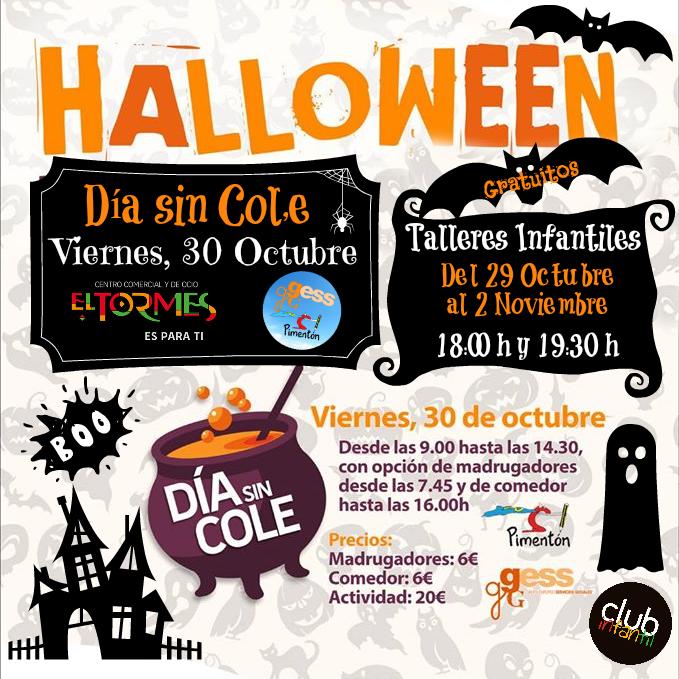 Halloween - Día sin Cole - Portada 1