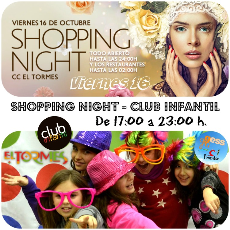 Shopping Night - Octubre 2015 - Collage 1