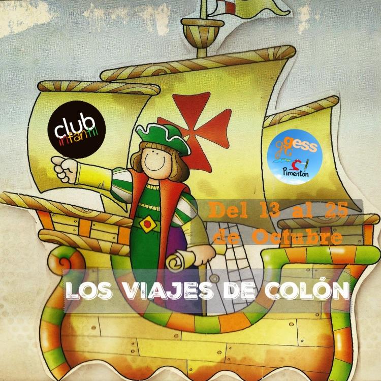 Viajes de Colón 1 - Collage Portada