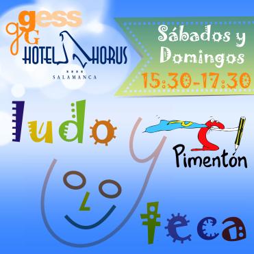 Ludotecas Pimentón - Logo 1 - Instagram