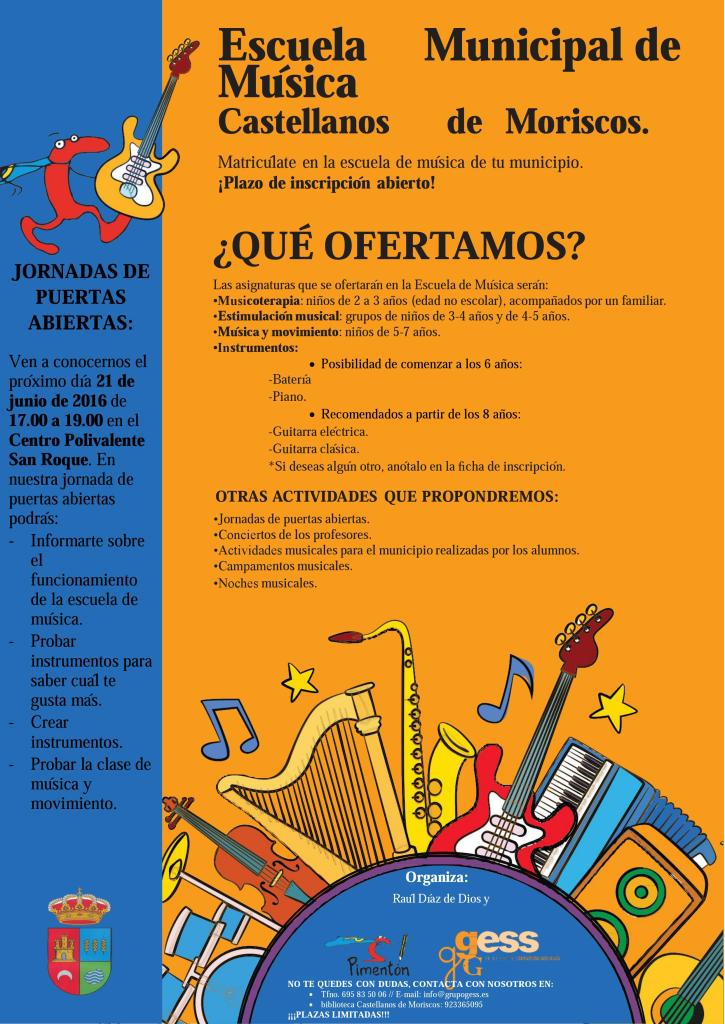 Escuela de Música - Cartel modificado 1