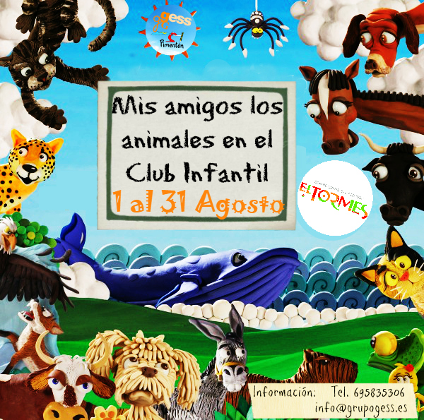 Animales - Collage 5 - Agosto 2016 - Instagram