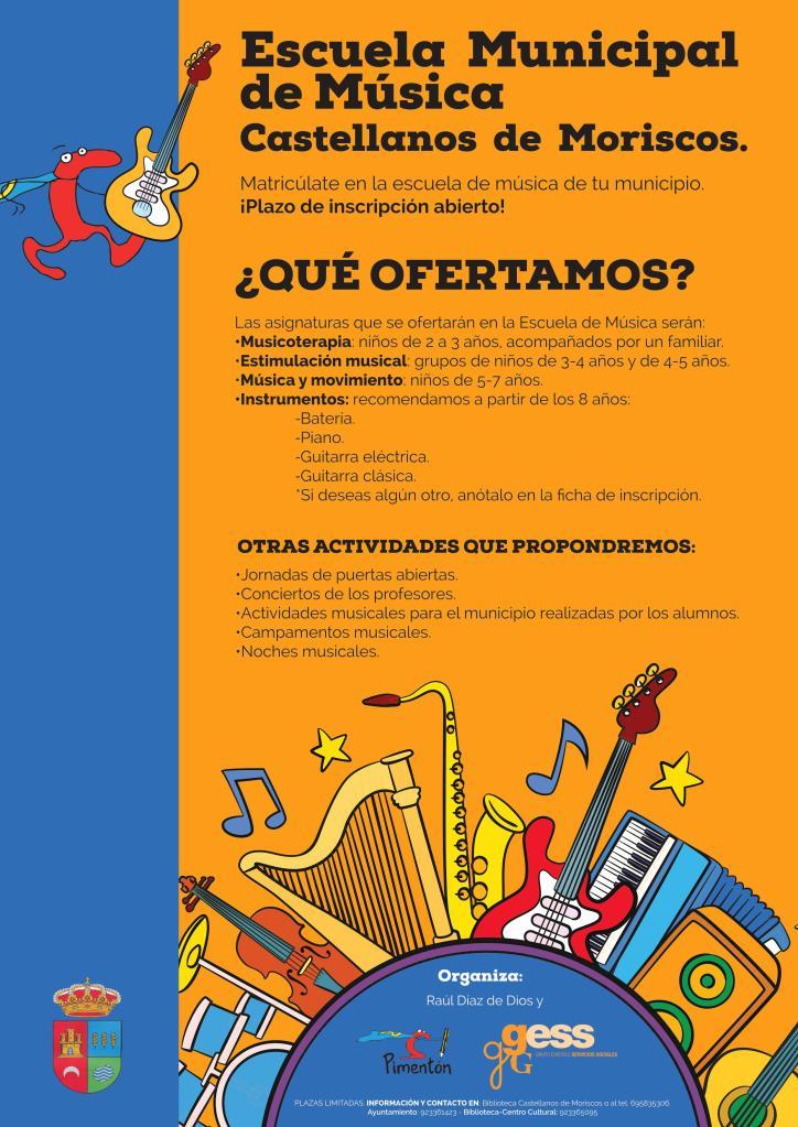 Escuela Municipal de Música de Castellanos de Moriscos